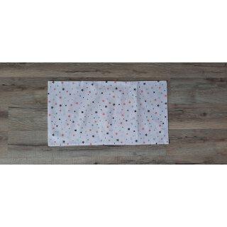 Kissenbezug 25x45 cm mit Füllung Herzen und Sterne